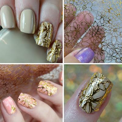 Nail Art embossed