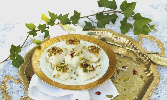 Iranian Ice In Paradise Dessert