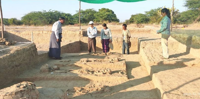 'Prehistoric' burials found in Mandalay
