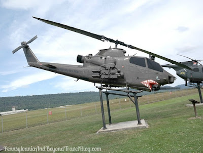 AH-1F Bell Cobra Helicopter at Fort Indiantown Gap in Pennsylvania