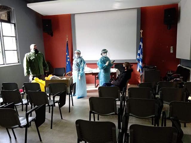 Αρνητικά τα rapid test στο Δήμο Διστόμου - Αράχωβας - Αντίκυρας