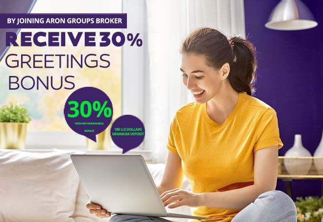 Aron Groups 30% Deposit Bonus (Grettings Bonus)