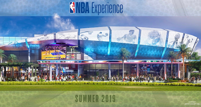 NBA experience Disney springs Walt Disney world