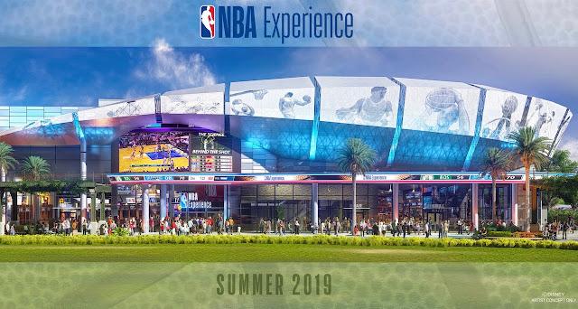 NBA experience Disney springs Walt Disney world