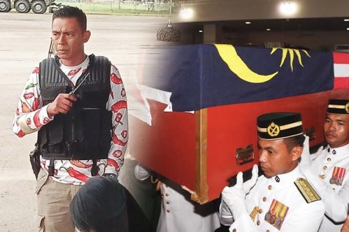 Celoreng berdarah hadiah terakhir Mejar Mohd Zahir Armaya