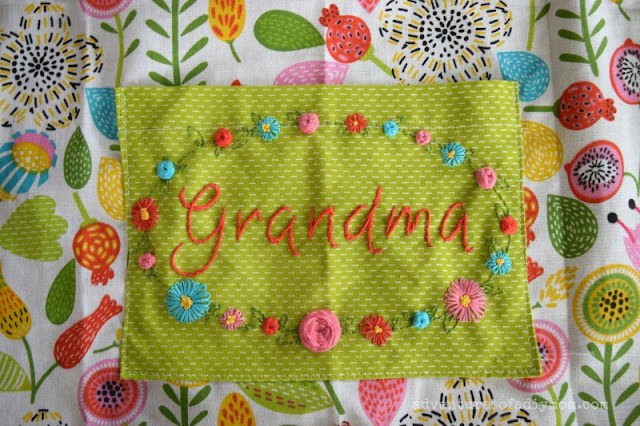 Mother's Day Embroidery Pattern