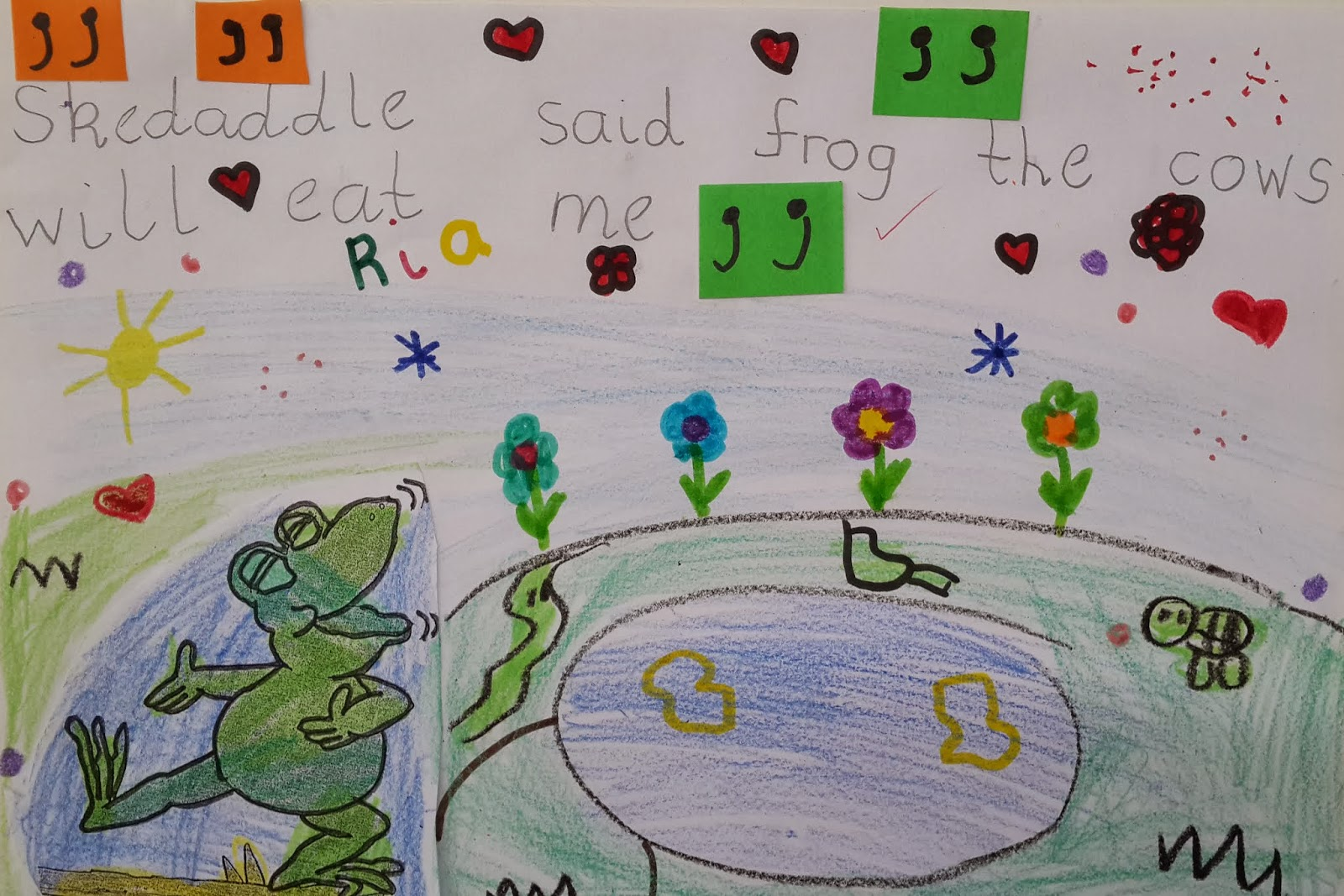 Mrs Whillier S Wonder Kids Speech Marks With Poggy Frog