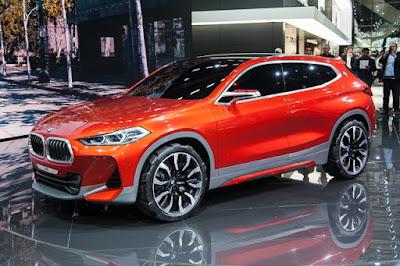 Concept elegante compatta: BMW X2