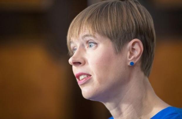 Президент Естонії закликала світову спільноту рятувати Україну від російської агресії