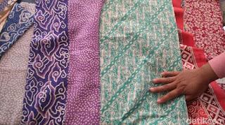 Marak Batik dari China dan India, Perajin: Kualitasnya Jelek Sekali