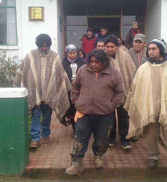 Chile: En Traiguen y con evidentes golpes aparece lonko Víctor Queipul de Temucuicui autónoma