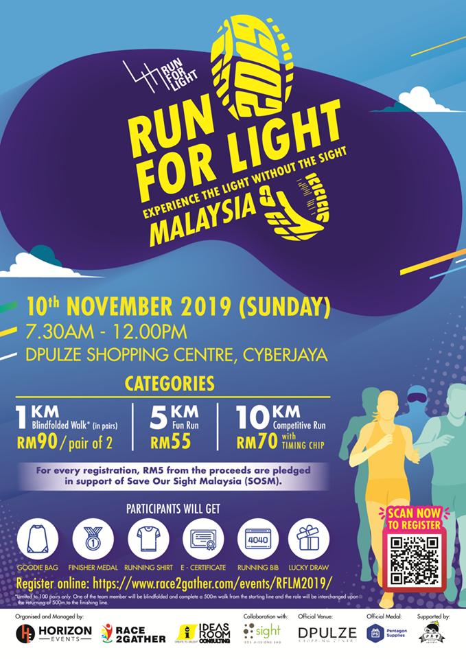 RUNNERIFIC: Run For Light Malaysia 2019
