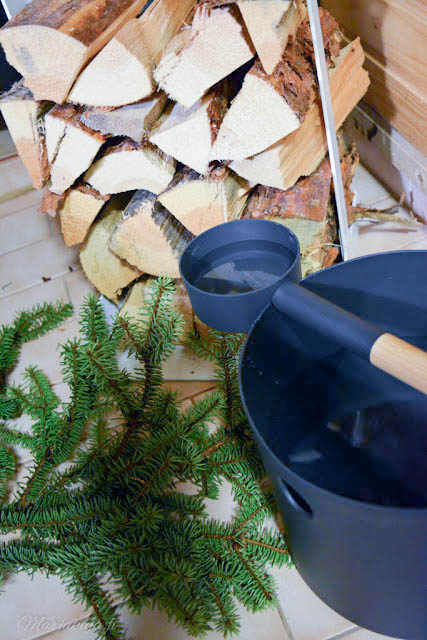 kolo saunasetti stala puunkantoteline harvia kiuas puusauna puukiuas