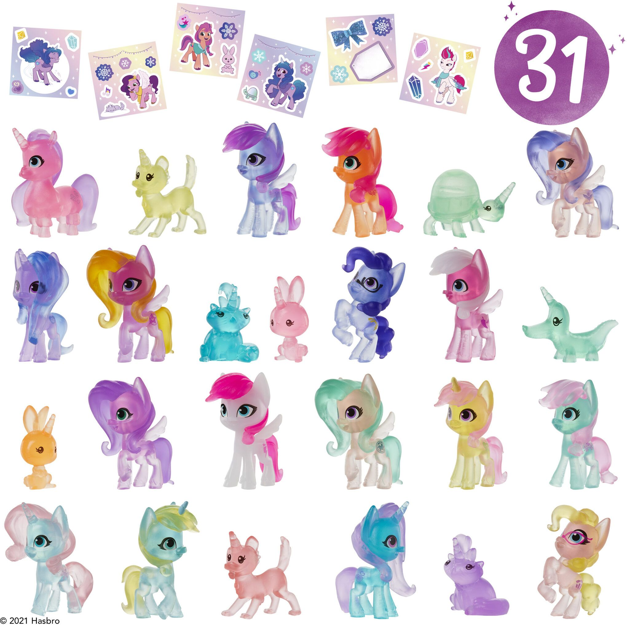 Snow PArty Countdown Generation 5 MLP Blindbags