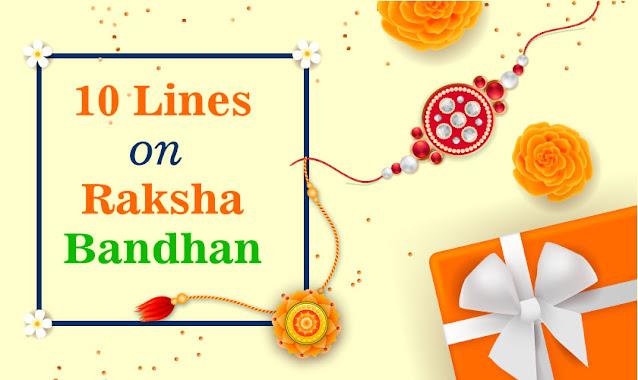 10 Lines On Raksha Bandhan in English for Kids
