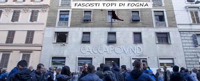 Dio, Patria e Occupazioni: una breve storia della sede di CasaPound a Roma.
