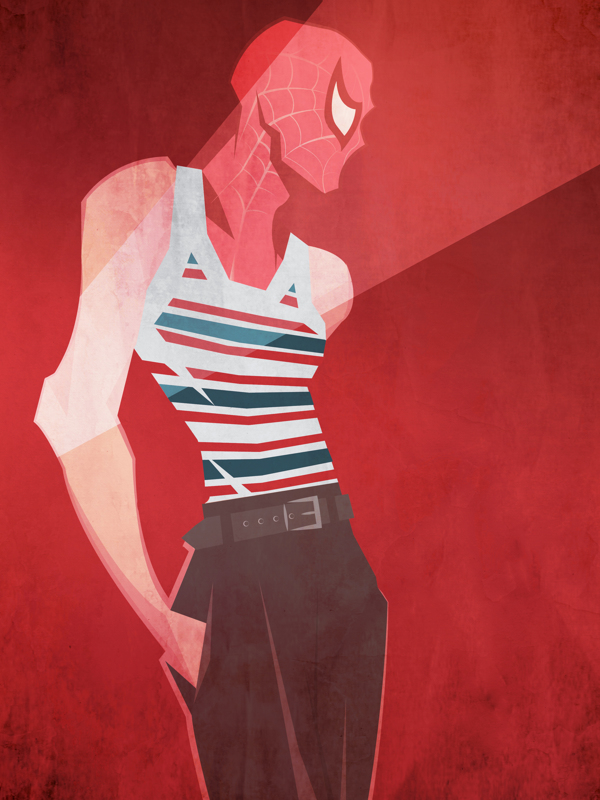 Peter McNierney. Illustrations. Marvel Superheroes. Dolce&Gabbana SS 2013