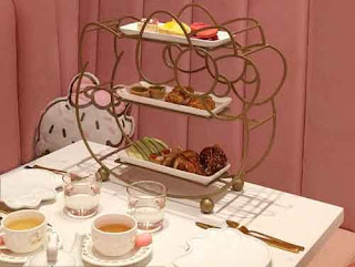 Tea Service At The Hello Kitty Grand Cafe.