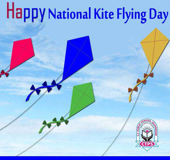 National Kite-Flying Day Wishes For Facebook