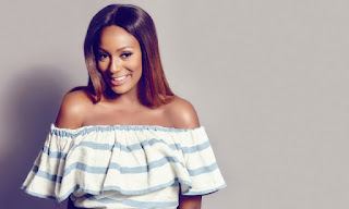 """Popular Nigerian disc jockey, DJ Cuppy, is set to paint the town red with her new Ferrari. She took to her Instagram to post photos of her new whip with caption, """"Level up""""."""