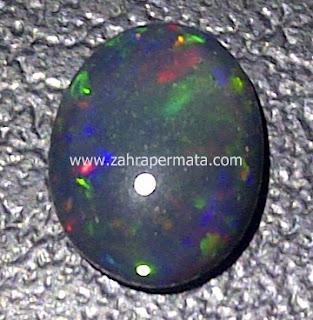 Batu Permata Black Opal Kalimaya - ZP 478