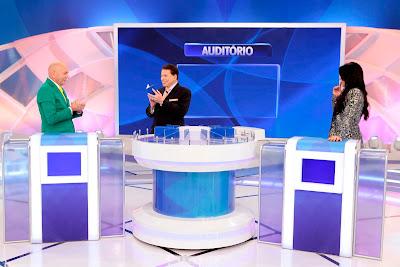 Luciano, Sylvia e Silvio (Crédito: Lourival Ribeiro/SBT)