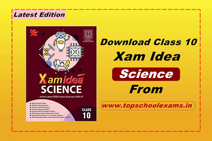 Download Xam Idea Science -Class 10 - CBSE - Examination 2020-2021 PDF