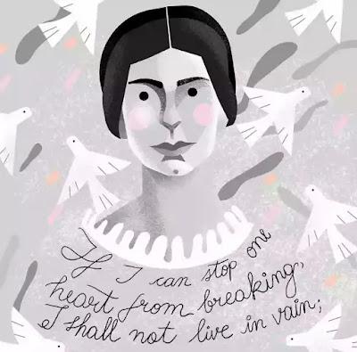 Chronology of Emily Dickinson life
