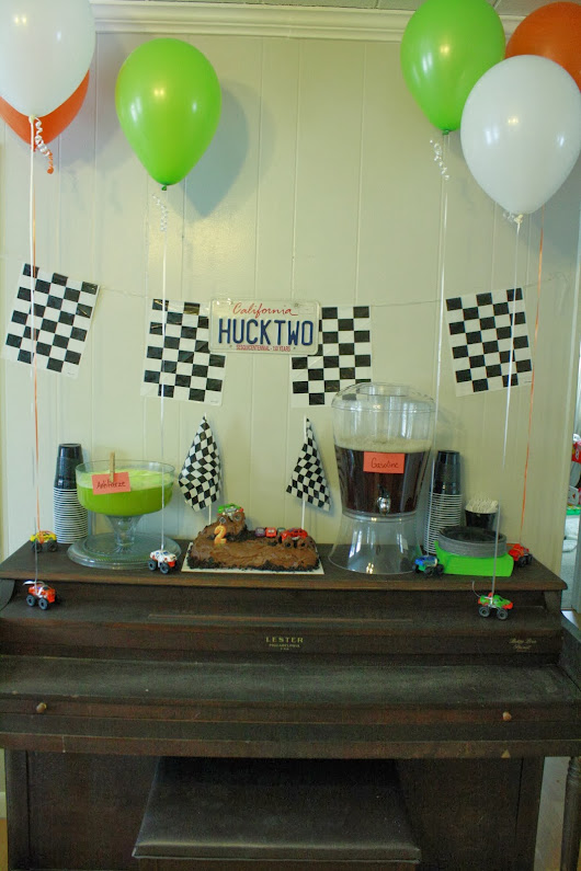 2nd Birthday Monster Truck Party