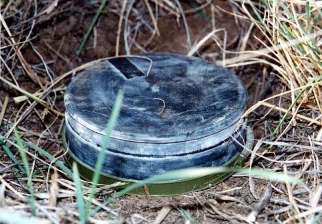 Militar murió al pisar una mina en Artsakh