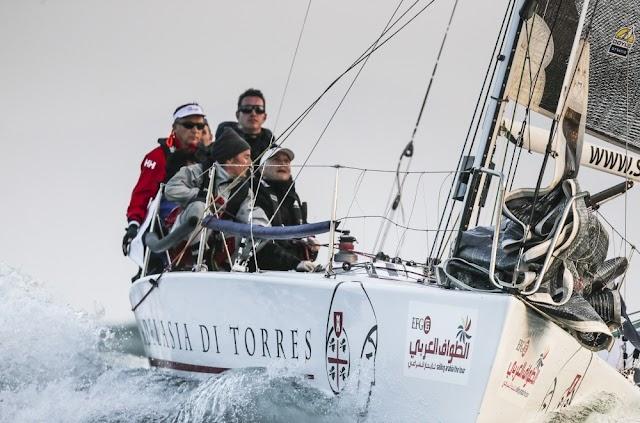 La prima barca italiana alla EFG Sailing Arabia