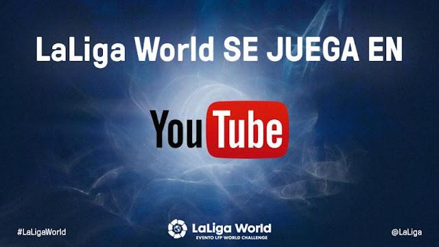 LaLiga World se ve en YouTube
