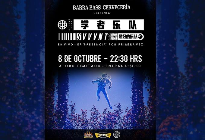 Svvvnt vuelve a los shows en vivo en conocido bar Barra Bass de Pto.Montt.