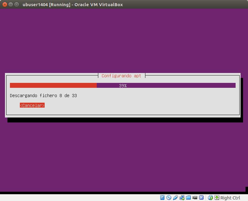 DriveMeca instalando Ubuntu Server 14.04 Trusty Tahr paso a paso