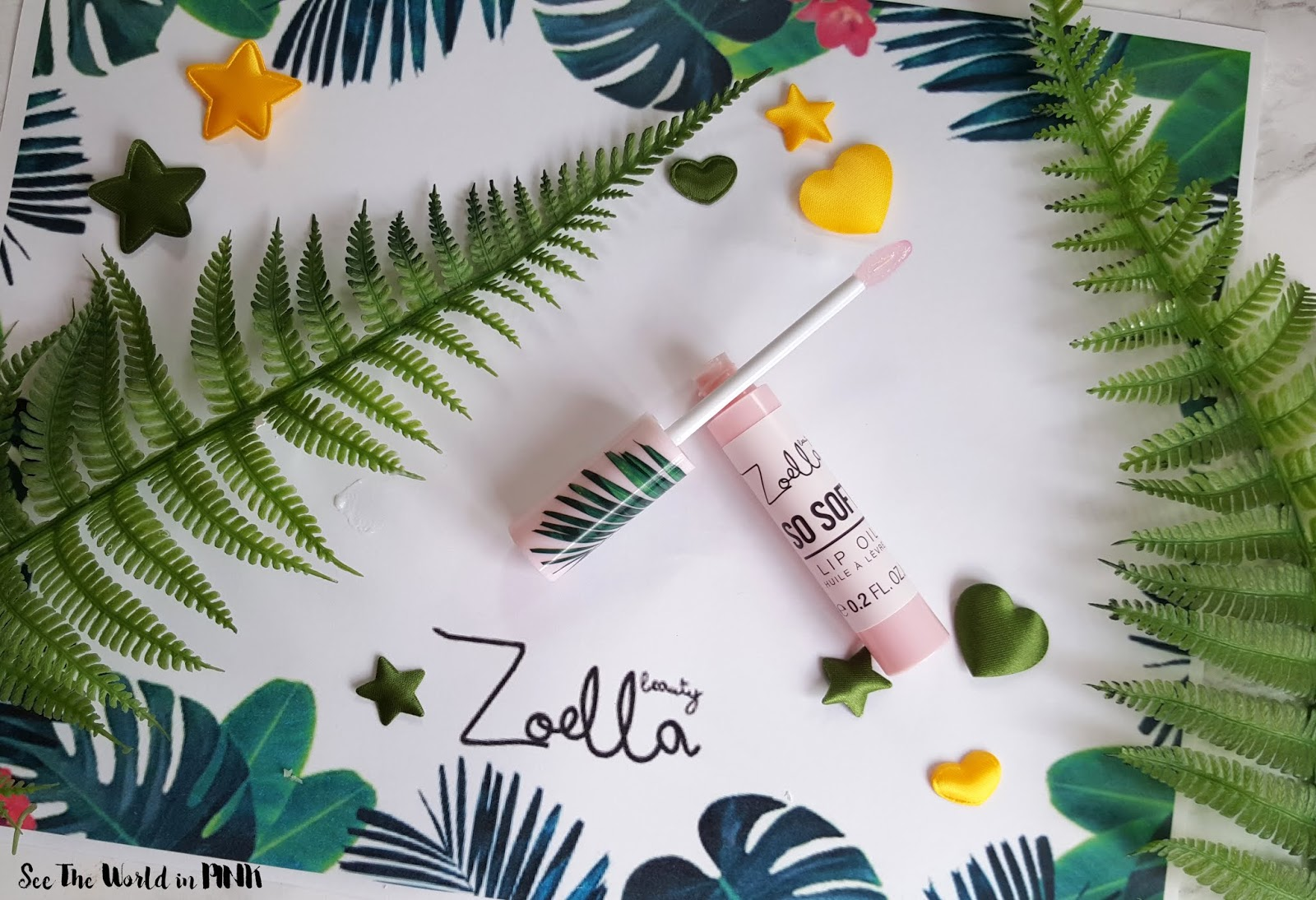 Skincare Sunday - Zoella Beauty Lip Oil & Body Sorbert Review & Giveaway!