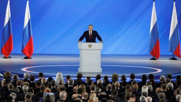 Putin presenta enmiendas constitucionales durante mensaje anual