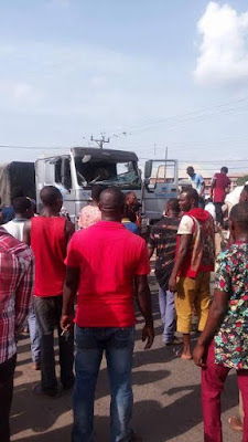 Dangote truck accident