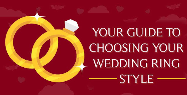Guide to Choosing Your Wedding Ring Style #infographic