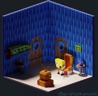 Spongebob Head out meme