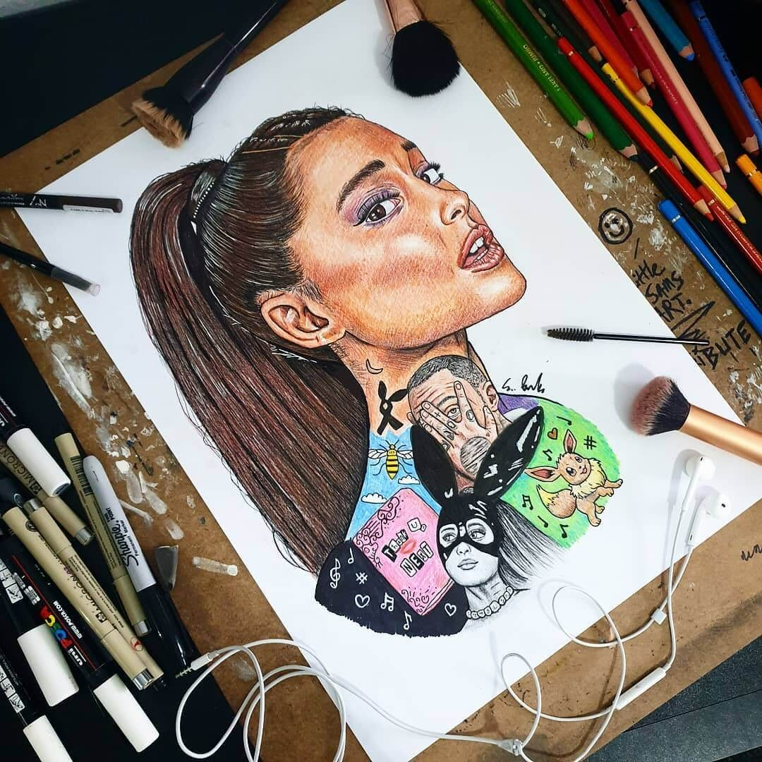 05-Ariana-Grande-S-Brunell-Movie-Drawings-within-Drawings-www-designstack-co