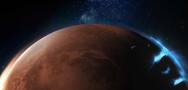 Emirates Mars Mission released images of Mars in the far-ultraviolet