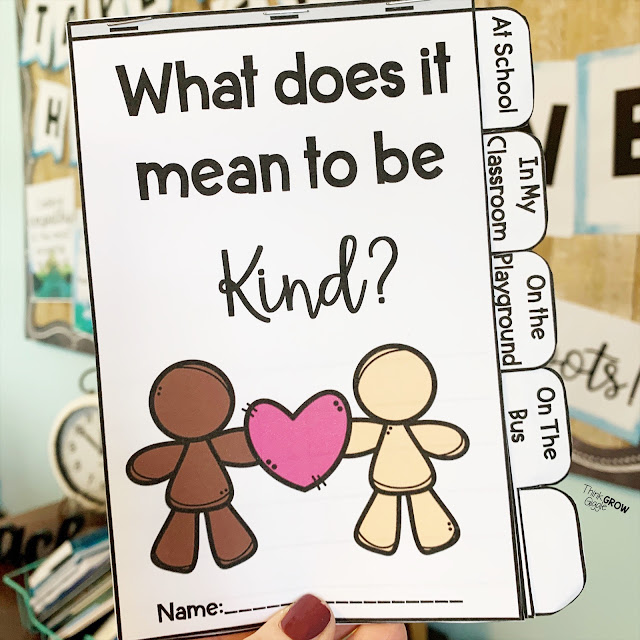 teaching kindness in upper elementary classroom