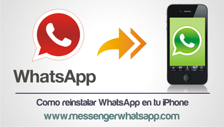 Como reinstalar WhatsApp en tu iPhone
