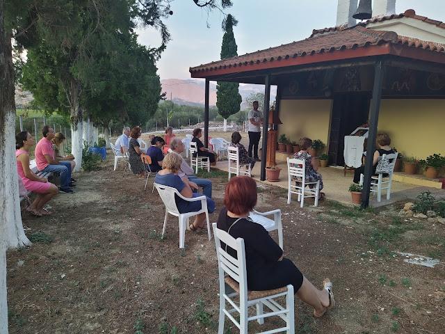 Θεσπρωτία: Στην ύπαιθρο παρακλητικοί κανόνες στην Παναγία από την ενορία Κεστρίνης Θεσπρωτίας (ΦΩΤΟ)