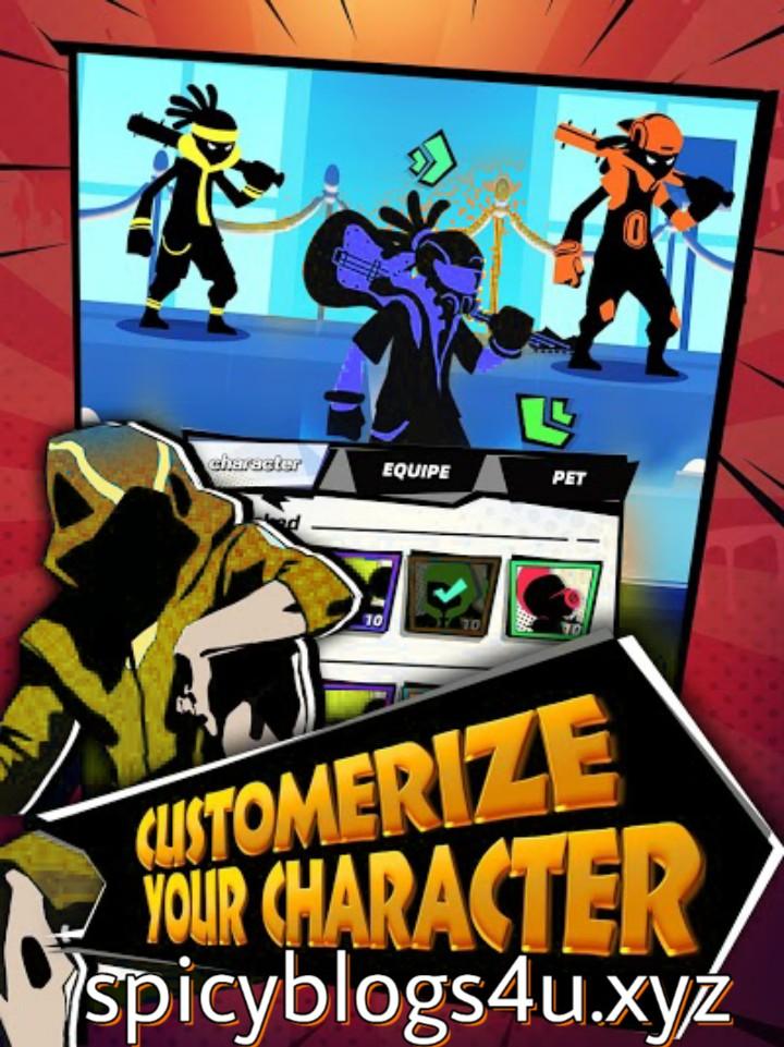 Features of gangster squad origin mod apk