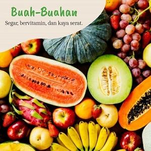 buah-buahan berserat tinggi