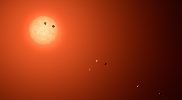 Planets in TRAPPIST-1 orbiting in synchronized harmonies