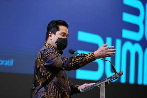 Menteri Erick Thohir Puji Jokowi Yang Tak Berani Lockdown