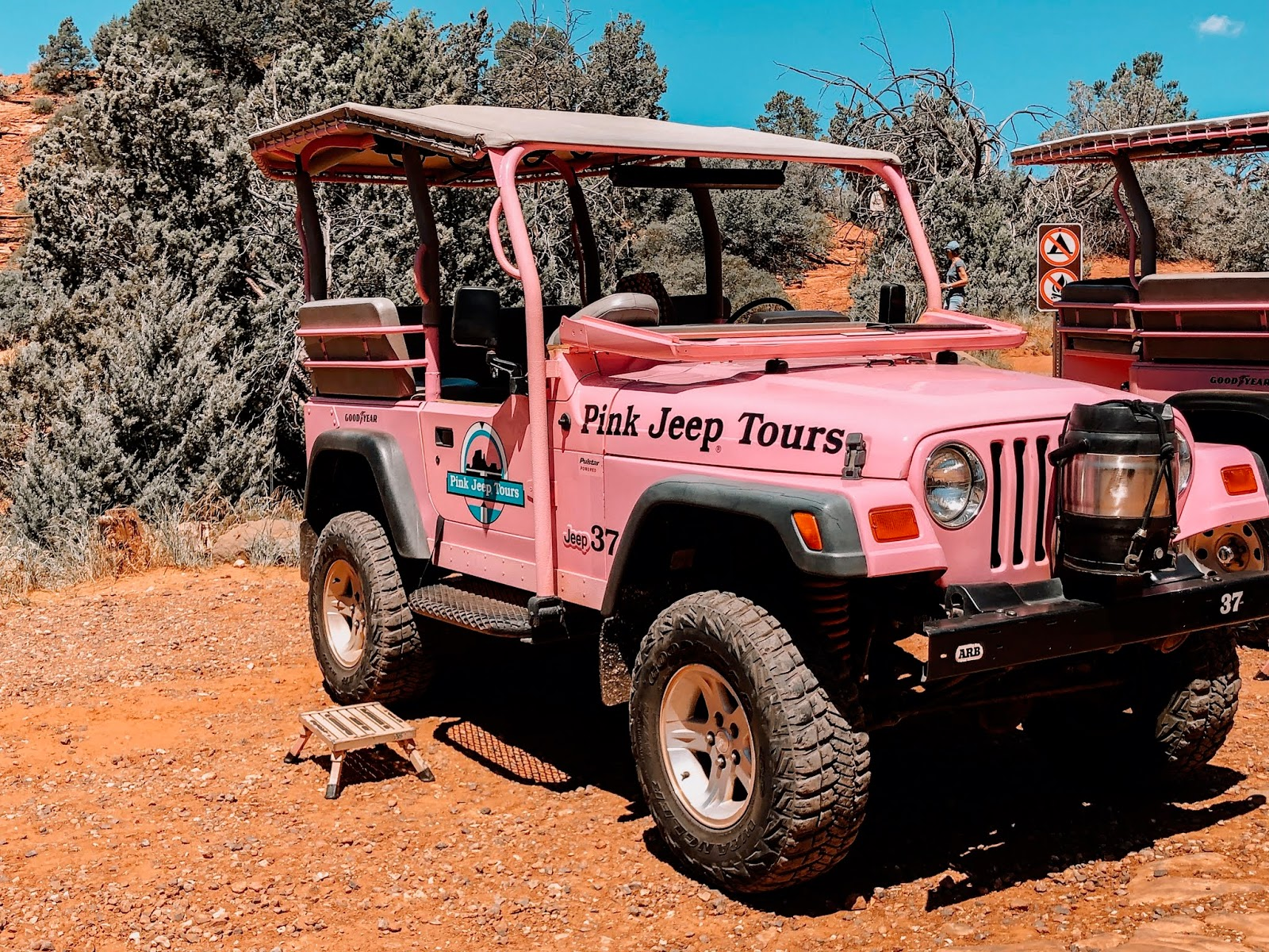 Pink Jeep from the Pink Jeep Tours in Sedona Arizona Things to Do in Arizona Things to do in Sedona