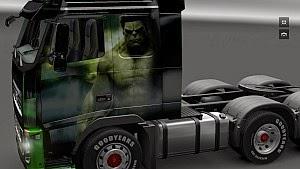 Hulk Volvo Skin by BoogiMan
